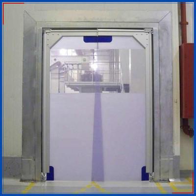 PVC自由门